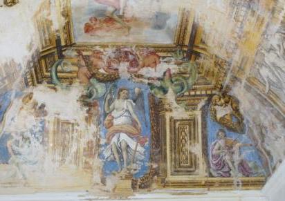 Il castello di ugento e le decorazioni pittoriche che - Decorazioni pittoriche ...