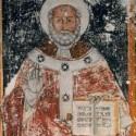 6 dicembre. San Nicola. Tre affreschi del santo di Myra nella cattedrale di Nardò