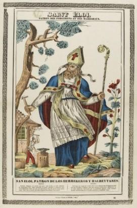dicembre. Sant'Eligio. Una tela di Donato Antonio d'Orlando a ...