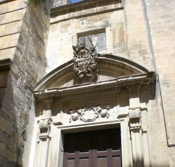 San Francesco della Scarpa, particolare