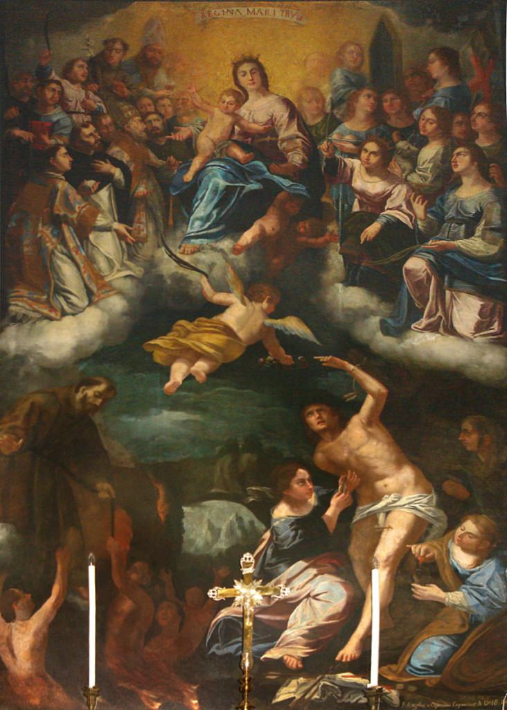 Frà Angelo da Copertino, chiesa matrice di Copertino (ph Stefano Tanisi)