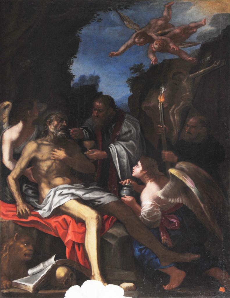 San Girolamo, di frà Angelo da Copertino, cattedrale di Nardò (ph Stefano Tanisi)