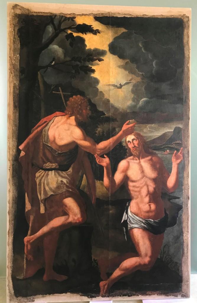 Battesimo di Gesù, di frà Angelo da Copertino