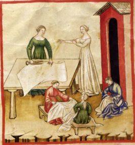 Dialetti salentini: Li pene ti lu linu (Le pene del lino)