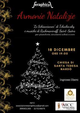 Armonie natalizie nella chiesa di Santa Teresa a Nardò, il 18 dicembre
