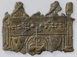 Brindisi. Santa Maria del Casale e l'affresco di Goffredo I di Charny, il Cavaliere della Sindone