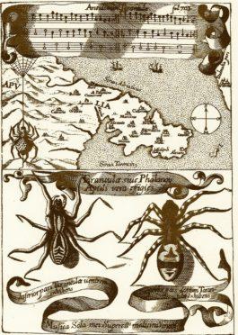 Antiche cure e rituali del tarantismo presso il mare, le sorgenti e i corsi d'acqua