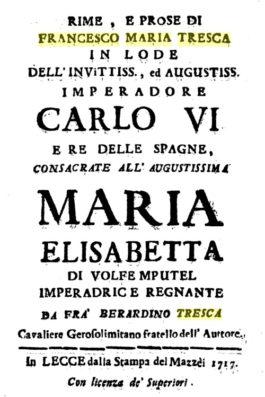 Achille Tresca di Lecce, il plagiario seriale